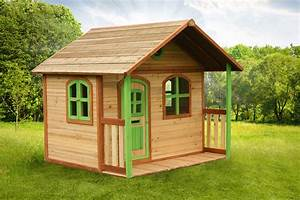 cabane de jardin en bois pour enfants With fabriquer une cabane de jardin pour enfant