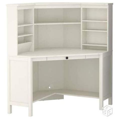 bureau d angle blanc bureau d 39 angle ikea blanc achat vente neuf d 39 occasion