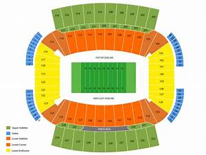 commonwealth stadium ky seating chart viptix com kroger field tickets
