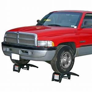 Tru-cut U2122 Ultra-ramps Steel Truck Service Ramps