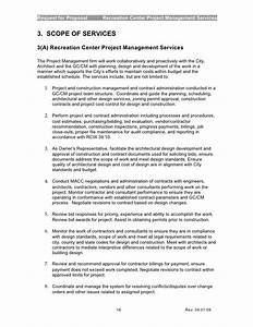 request for proposal With tender documents project management