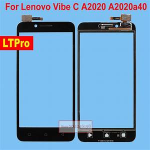 Ltpro Black White Outer Glass Panel Touch Screen Digitizer