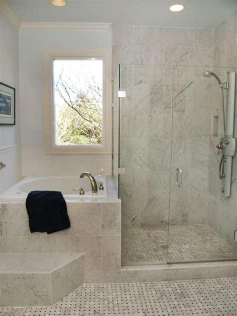 corner tub shower combo Bathroom Traditional with bathroom