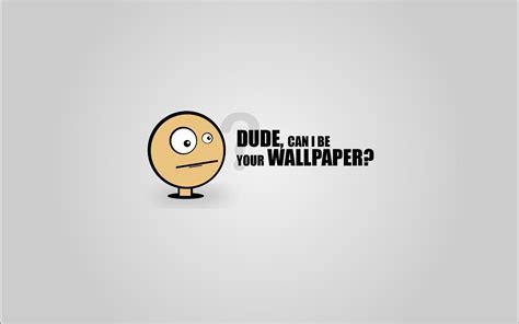 minimalistic funny simple comic style wallpaper