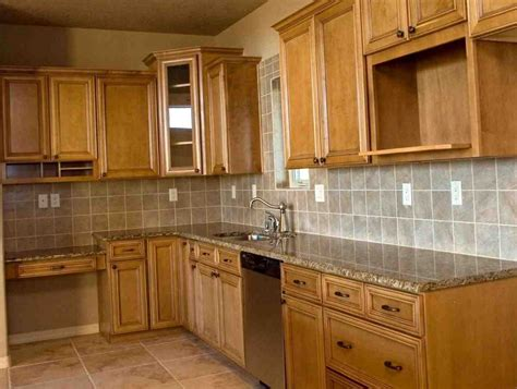 Unfinished Oak Kitchen Cabinets  Home Design Ideas