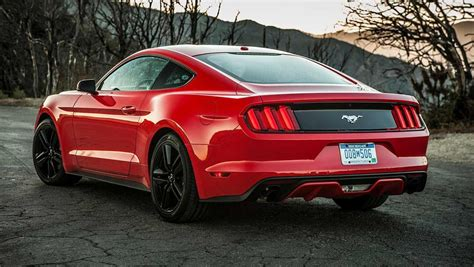 Cheap 4 Cylinder Turbo Cars by 2015 Ford Mustang 4 Cylinder Review Carsguide