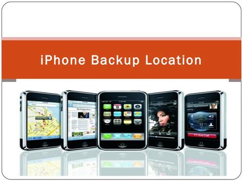 iphone location iphone backup location made by itunes