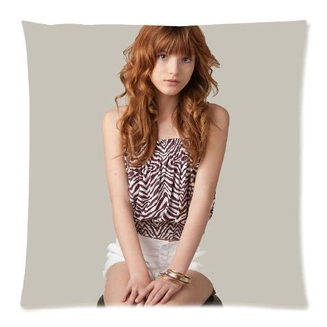 Coutume Bella Thorne Pillowcase Taie D oreiller 18x18 ( One Side Design ) 547 Boutique Bella