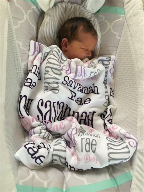 personalized baby blanket monogrammed baby  monogrammarketplace