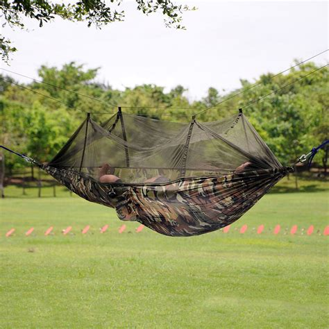 Camouflage Hammock by New Portable Camouflage Hammock Fabric Hanging Bed With