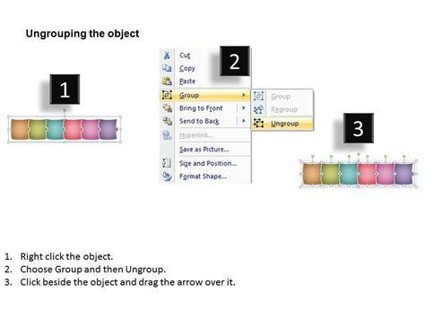 puzzle linear process flow chart  stages  charts
