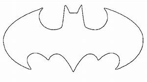bat symbol stencil clipartsco With batman logo cake template