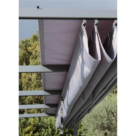 magasin de cuisine metz toile polyester anet niagara gris l 282 x l 400 cm leroy