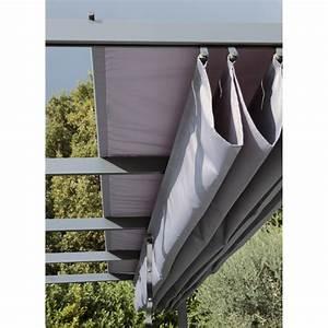Toile polyester Anet/niagara gris l 282 x L 400 cm Leroy Merlin