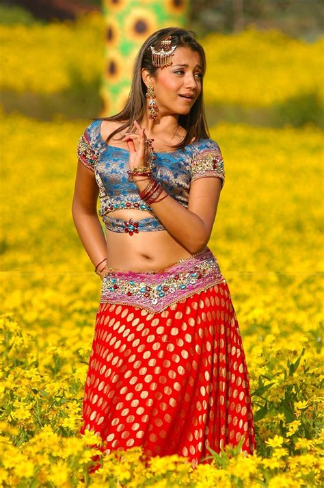 Actress Navel Show Trisha Latest Photos Gallery