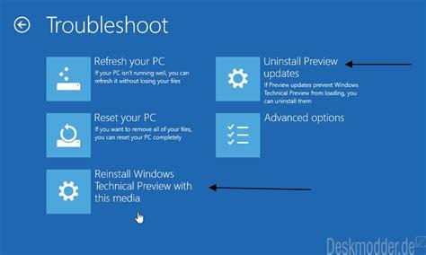 Window Si by Windows 10 Der Dvd Usb Stick Neu Installieren Ohne