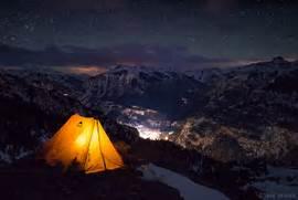 Juan Mountains  Co...Camping Night Stars