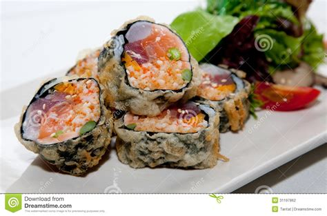 japanese fusion cuisine japanese fusion food stock photography image 31197862