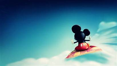Mickey Disney Mouse Clouds Backgrounds Wallpapers Carpet