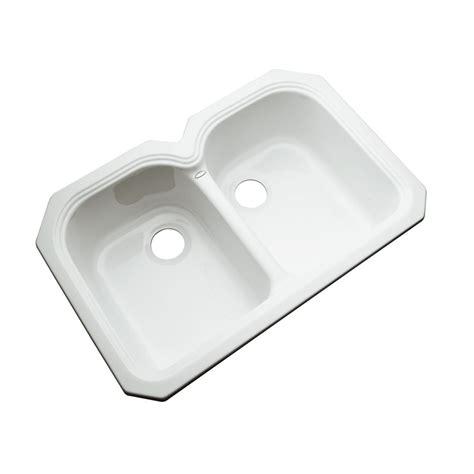 home depot kitchen sinks top mount kohler wheatland 33 inch x 22 inch top mount bowl 8405