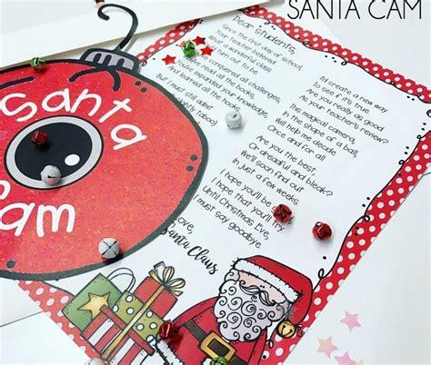 santa cam classroom management   holidays
