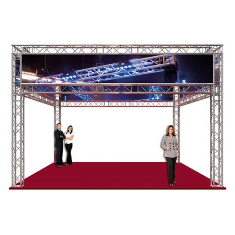 l on a stand duratruss dt 34 09a exhibition booth complete truss