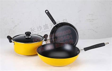 ciq woks camping alocs copper set nonstick pans titanium stainless steel cooking pots  stock