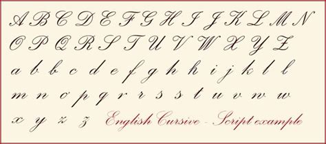 English Cursive Characters  Lettering  Pinterest  English, Beautiful And Handwriting Alphabet