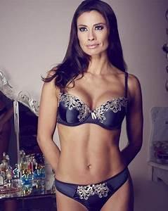 Melanie Sykes strips off for underwear shoot
