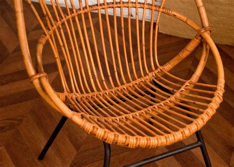 chaise en rotin conforama vintage rattan chair 50s 1950 vintage rattan chairs