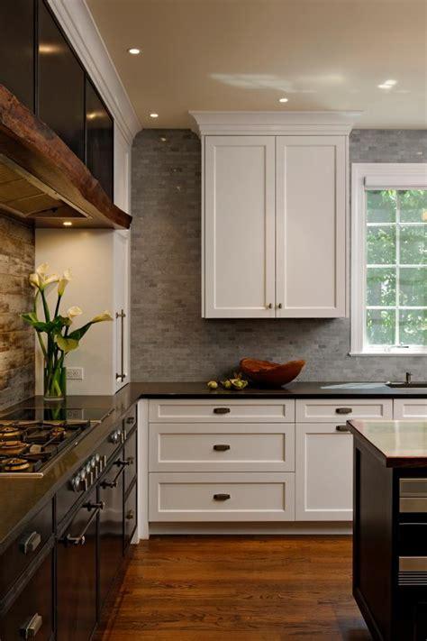 high contrast features  custom kitchen hgtv
