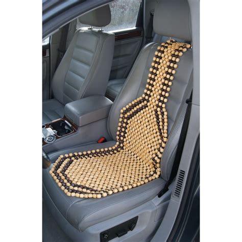 couvre siege auto pas cher couvre siège auto en billes de bois pas cher livraison