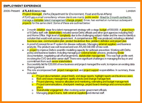 Project Management Experience Exles by 6 Project Management Experience Introduction Letter