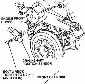 Ford Taurus Questions - Cant Find Crank Sensor