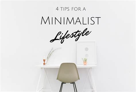 4 Tips For A Minimalist Lifestyle In The New Year Terumah