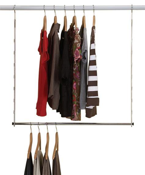homz chrome hang closet rod zulily
