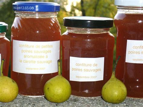 cuisine sauvage cuisine sauvage confiture de poires sauvages