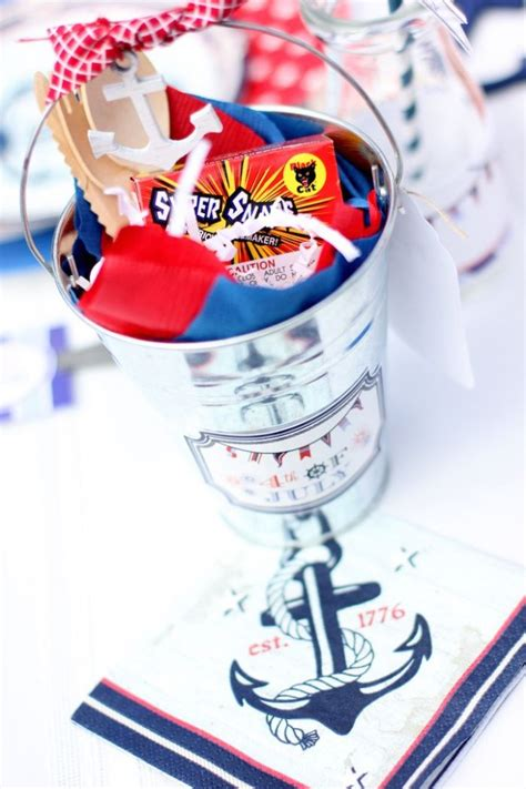 4th of july nautical dessert nautical themed 4th of july party via kara s party ideas full of decorating ideas dessert