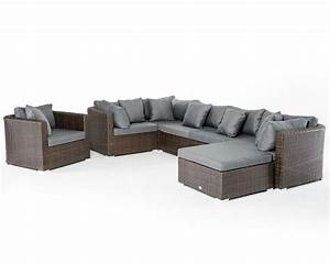 brown and grey outdoor sectional sofa set 44p202 set With outdoor sectional sofa