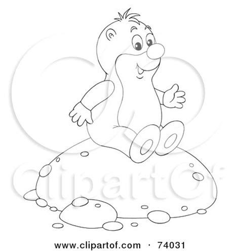 gopher clipart black and white dental gopher posters prints by leishman