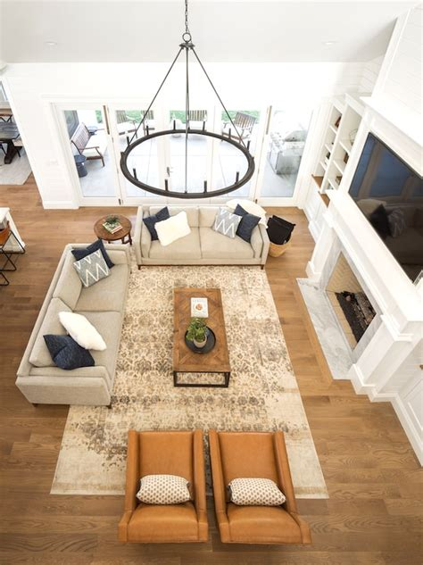 Long Living Room Furniture Placement Ideas