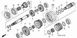Honda Atv 2007 Oem Parts Diagram For Transmission
