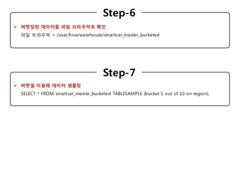 7 Application Hive Bucket