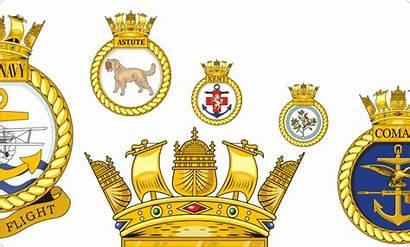 Navy Vector Royal Crests British Ship Emblem