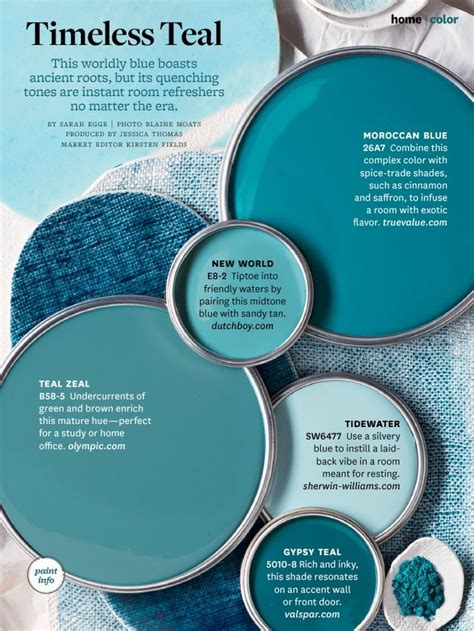 picking the teal paint color with valspar paint