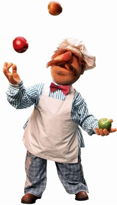 Chef Muppet Muppets Swedish Sesame Juggling Street