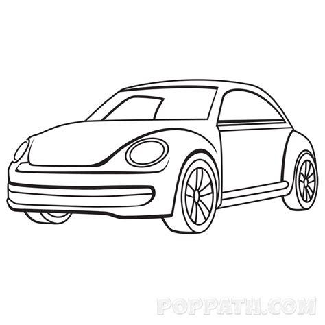 draw  simple car pop path