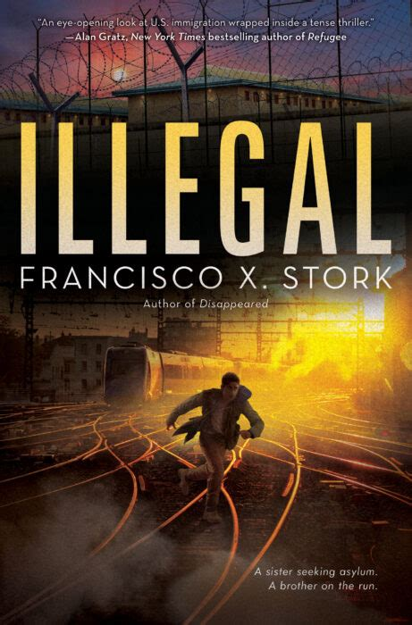illegal  francisco  stork hardcover book