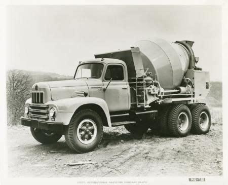 standard issue    day trucks cement mixer