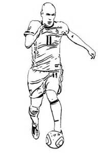 Neymar Fifa World Cup Brasil Coloring Pages Printable | 646x450